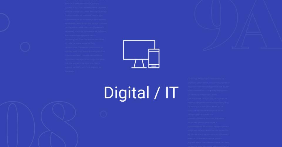 Digital/IT 3