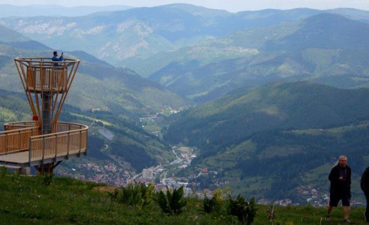 Планинско презареждане и вдъхновение по време на работа - вече възможно в Родопите. 1