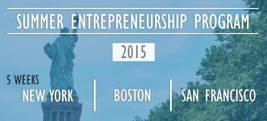 Summer Entrepreneurship Program